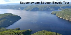 Another tourist view of the Lac Saint-Jean. Romantic setting for a play, yes?